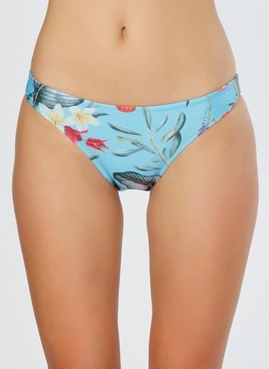 T-Box Dantelli Bikini Altı Mavi